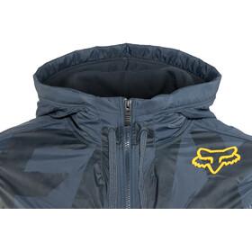 Fox Axle Zip Fleece Jacket Men navy